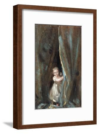 Study of the Artist's Daughter Maria as Bo-Peep, 1820