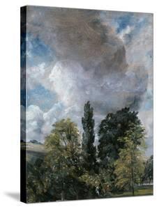 The Close, Salisbury, Wiltshire by John Constable