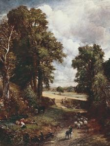 The Cornfield by John Constable