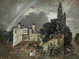 The Grove or Admiral's House, Hampstead, London by John Constable