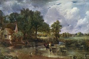 The Hay Wain, 1821 by John Constable