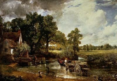The Haywain, 1819 by John Constable