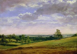 View from Highgate Hill by John Constable