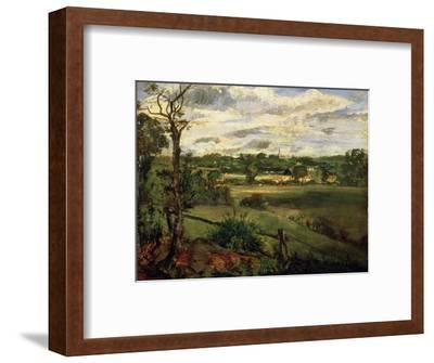 View of Highgate from Hampstead Heath, circa 1834