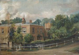 View of Lower Terrace, Hampstead, London by John Constable