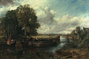 View of the Stour Near Dedham, 1822 by John Constable