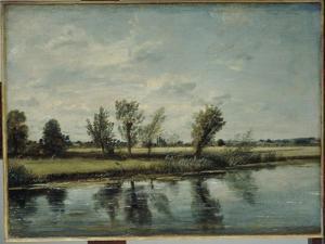 Water Meadows Near Salisbury, Wiltshire by John Constable