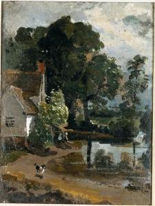 Willy Lot's House Near Flatford Mill by John Constable