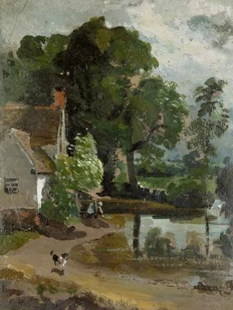 Willy Lott's House, Near Flatford Mill, circa 1811 by John Constable