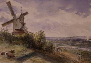 Windmill at Stoke, Near Ipswich by John Constable