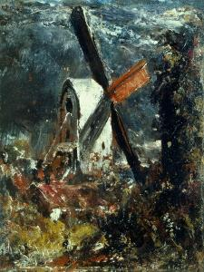 Windmill Near Brighton, East Sussex by John Constable