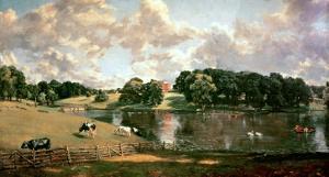 Wivenhoe Park, Essex, 1816 by John Constable