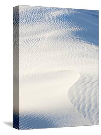 Ripple Marks on Sand Dunes in White Sands National Monument, New Mexico, USA