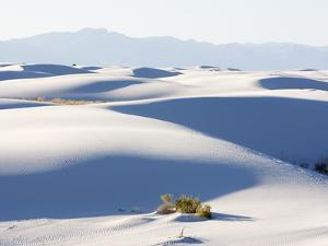 Sand Dunes in White Sands National Monument, New Mexico, USA by John Cornell
