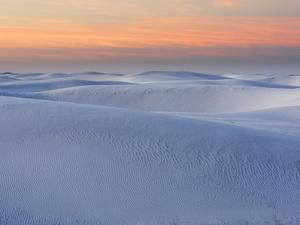 White Sands National Monument at Dusk, New Mexico, USA by John Cornell