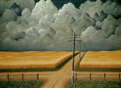 Grey and Gold, 1942 by John Cox