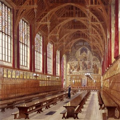 Lincoln's Inn, London, 1884 by John Crowther