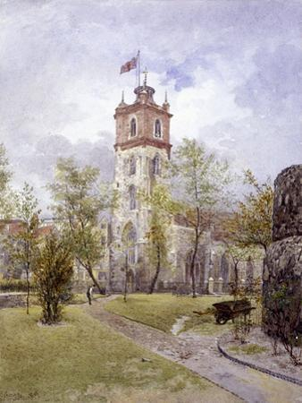 St Giles Without Cripplegate, London, 1882 by John Crowther