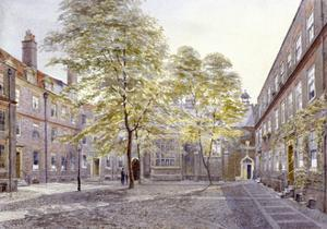 View of Staple Inn, London, 1882 by John Crowther