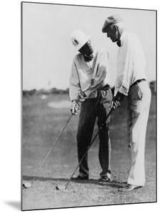 John D. Rockefeller and S.J. Peabody, March 1932