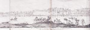 Panoramic View of the City of Benares, 1827 by John Dalrymple