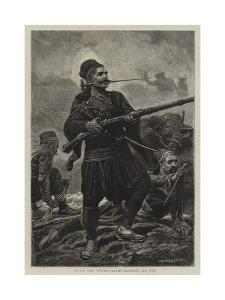 With the Turks, Bashi-Bazouks at Bay by John Dawson Watson