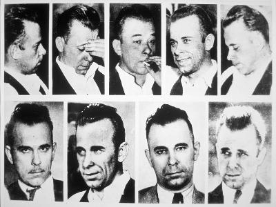 John Dillinger--Giclee Print