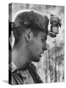 18 Year Old Coal Miner Ray Martin Near Islom, Kentucky by John Dominis