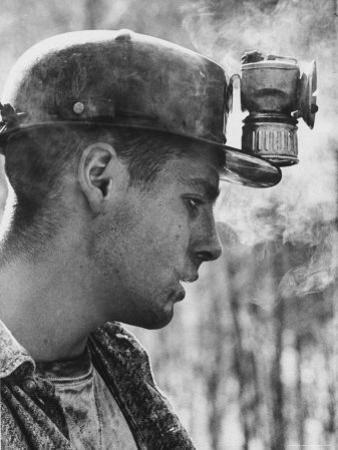 18 Year Old Coal Miner Ray Martin Near Islom, Kentucky by John Dominis