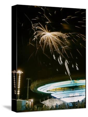 1955: Fireworks Display over Iowa State Fair, Des Moines, Iowa