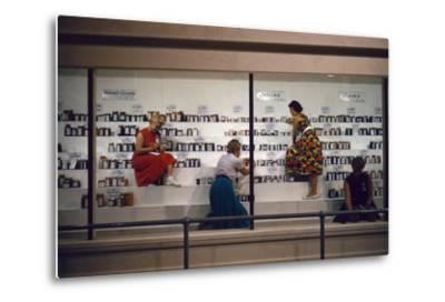1955: Judges Examining Various Preserves and Butters, at the Iowa State Fair, Des Moines, Iowa