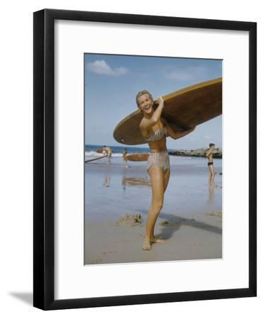 Australian Surfer Girl