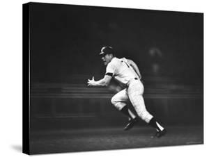 Baseball Player Mickey Mantle by John Dominis
