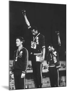 Black Power Salute, 1968 Mexico City Olympics by John Dominis