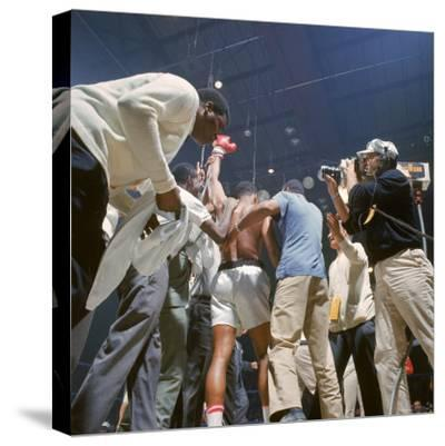 MUHAMMAD ALI PORTRAIT 24x36 poster SONNY LISTON BOXING CHAMP CASSIUS CLAY ICON!!
