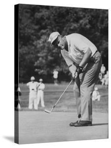 Golfer Jack Nicklaus Playing Golf by John Dominis