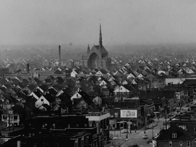 Hamtramck Section of Detroit Populated by Poles, Photo Essay Regarding Polish American Community by John Dominis