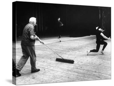 Jacques D'Amboise During Rehearsal