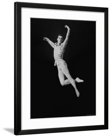 Jacques D'Amboise of the New York City Ballet