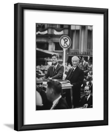 Konrad Adenauer with President John F. Kennedy