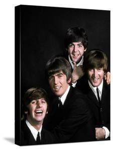 Members of Singing Group the Beatles: John Lennon, Paul McCartney, George Harrison and Ringo Starr by John Dominis