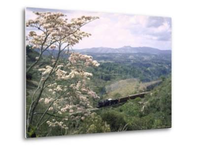 Narrow Gauge Rail Line Transporting Goods Between Guatemala and El Salvador