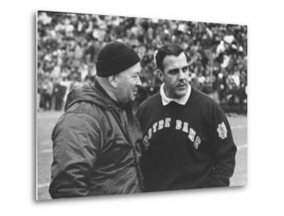 Notre Dame Coach Ara Parseghian