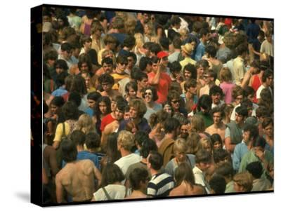Overall of the Huge Crowd, During the Woodstock Music and Art Fair