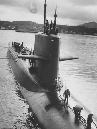 "Polaris Missile Sub ""Patrick Henry"" Near Holy Loch by John Dominis"