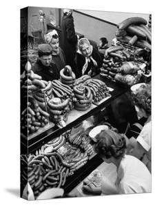 Polish Sausage Store Customers Have 60 Varieties from Which to Choose by John Dominis