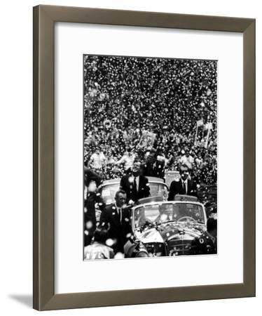 Pres. John F. Kennedy and Adolfo Lopez