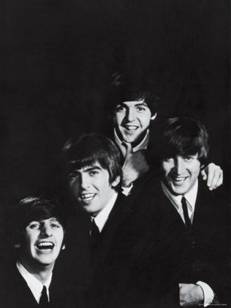 Ringo Starr, George Harrison, Paul McCartney and John Lennon of the English Rock Group the Beatles