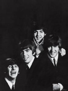 Ringo Starr, George Harrison, Paul McCartney and John Lennon of the English Rock Group the Beatles by John Dominis