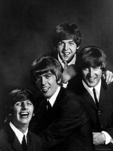 Ringo Starr, George Harrison, Paul McCartney and John Lennon by John Dominis